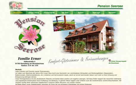 "<a href=""pension-seerose-ramsberg-am-brombachsee.html"" title="" Pension Seerose in Ramsberg am Brombachsee - Pension Anfragen bei Mathias Ermer""> Pension Seerose</a>"